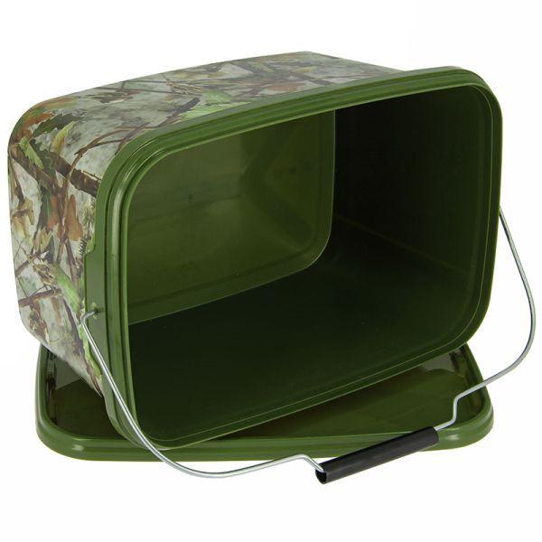 5 liter eimer rechteckig camo. Black Bedroom Furniture Sets. Home Design Ideas